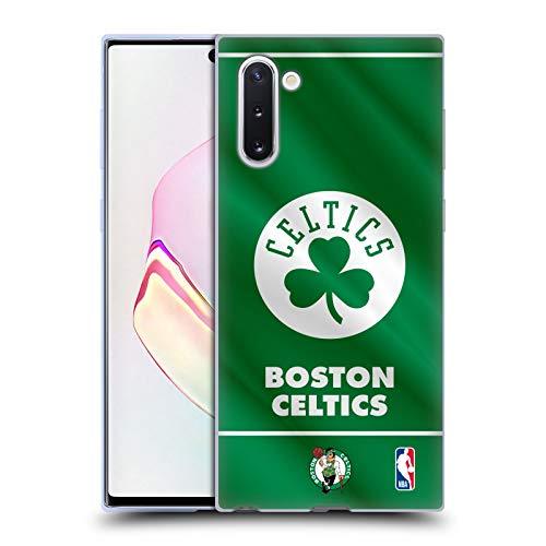 Head Case Designs Licenza Ufficiale NBA Banner 2019/20 Boston Celtics Cover in Morbido Gel Compatibile con Samsung Galaxy Note10 / 5G