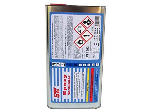 STC Epoxy Verdünner 5 L Epoxy Verdünnung Epoxid Verdünnung Epoxidverdünnung