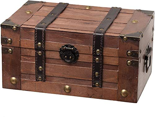 SLPR Alexander Wooden Storage Trunk