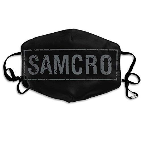 Mundschutz Face Cover Unisex Reusable Nose Mouth Cover with Sons of Anarchy Samcro Banner Face Cover Adjustable Earloops