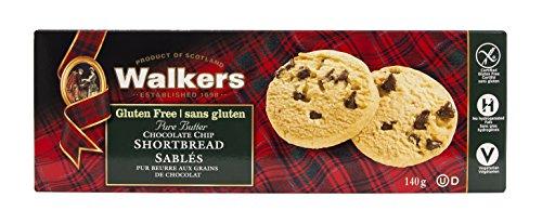 Walkers Glutine Cioccolato Senza Chip Di Pasta Frolla 140 g...