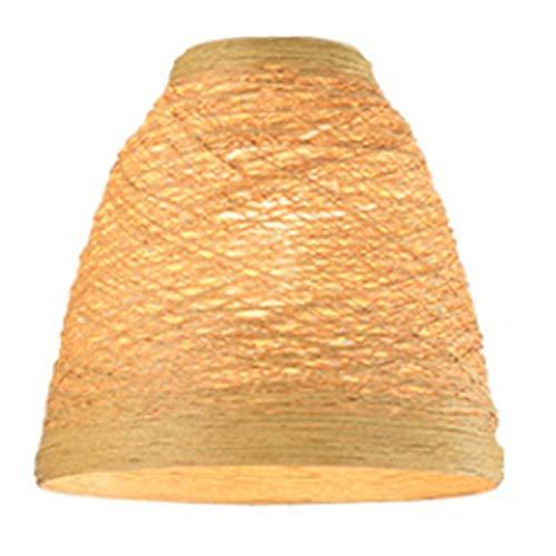 Varadyle LáMpara Colgante Creativa de Mimbre y RatáN, Pantalla de Vid Hecha a Mano, Luz Colgante LED para Sala de Estar de Restaurante (Sin Bombilla)