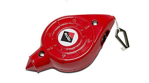 Rubi 70926 Marcador líneas + Polvo trazador, Rojo