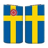 glo2 mini グロー2 ミニ シリーズ2 国内生産 日本製 電子タバコ 専用 薄型 ハード 国旗柄 029 スウェーデン