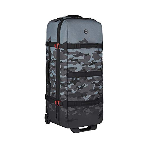 Victorinox VX Touring Wheeled Duffel with TSA Approved Locks, Camo/Blue/Black, Checked, Extra-Large (32