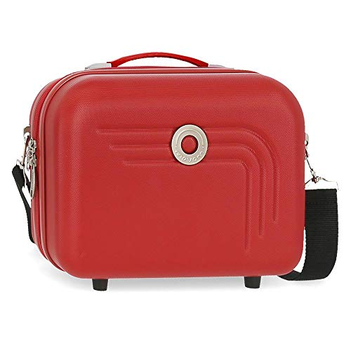 Movom Riga Nececer Adaptable Rojo 29x21x15 cms ABS