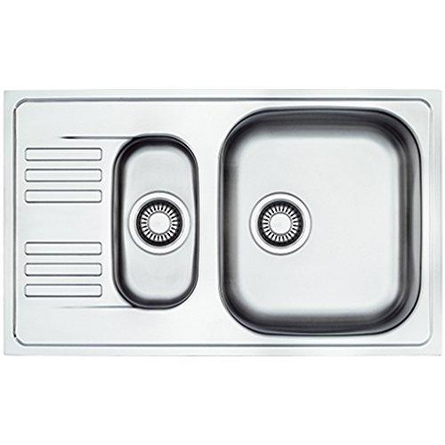 Gris FRANKE ETN 614i Nova Euroform /Évier de cuisine encastr/é en acier inoxydable