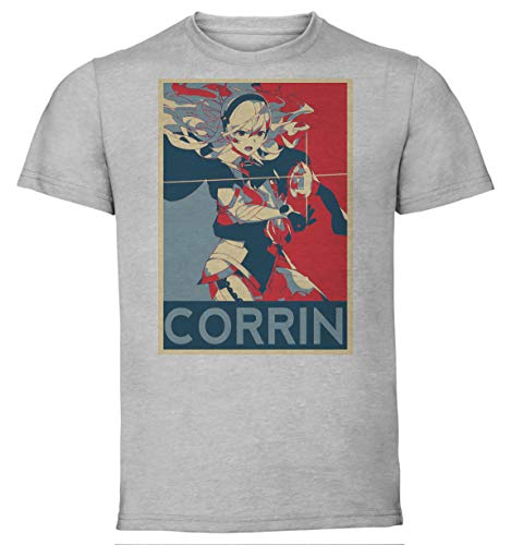 Instabuy T-Shirt Unisex - Grey Shirt - Propaganda - Fire Emblem - Corrin F
