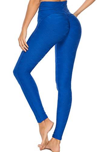 FITTOO Leggings Mallas Mujer Pantalones Deportivos Yoga Alta Cintura Elásticos y Transpirables1500#3…