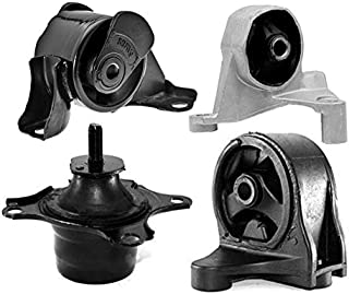 Focreedy HO107 Replacement Engine Radiator Cooling Fan Assembly HO3115115 For Honda Civic 1.7L 2001-2005