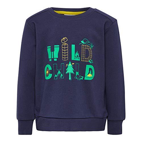 Lego Wear Duplo Boy Lwsirius 653-Sweatshirt Sweat-Shirt, Bleu (Dark Navy 590), 98 Bébé garçon