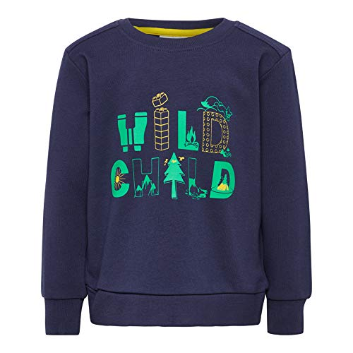 Lego Wear Baby-Jungen LWSIRIUS 653-SWEATSHIRT Sweatshirt, Blau (Dark Navy 590), (Herstellergröße: 86)