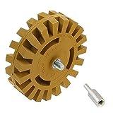 Disco de desgomado neumático de 4 pulgadas a la rueda de goma desgomado de la muela de goma rueda de pulido del neumático del coche