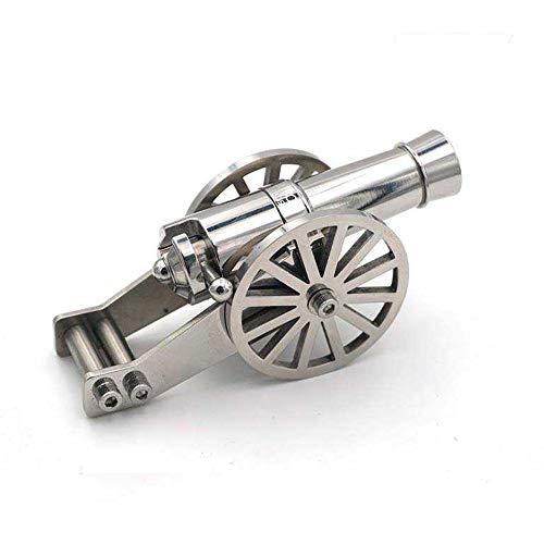 shenbingjixieshebei Mini Napoleone Cannone Metallo Navale Artiglieria Modello Acciaio Kit Collezione Desktop Cannon Guerra Civile Cannon Modello per la Decorazione