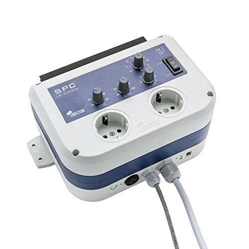 SMSCOM SPC Klimaregler 16 Ampere MK2 EU Stecker Klima Kontroller Ab- & Zuluft