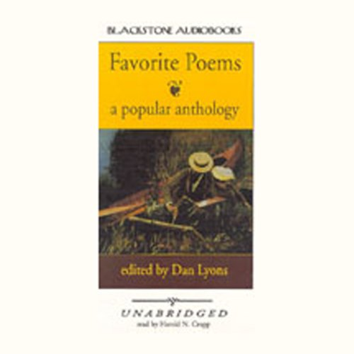 Favorite Poems audiobook cover art