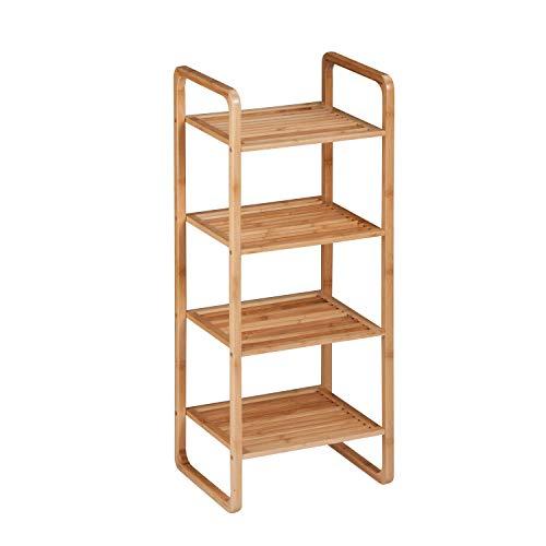 Wooden Storage Shelf Unit