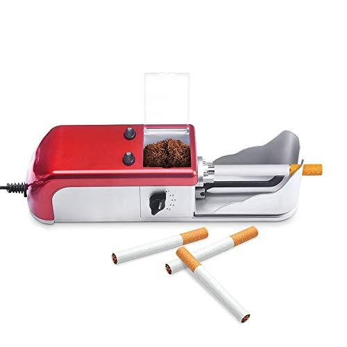 GUOJIN Maquina Liadora De Tabaco, Entubador Electrico para Llenado De Cigarros Entubar...