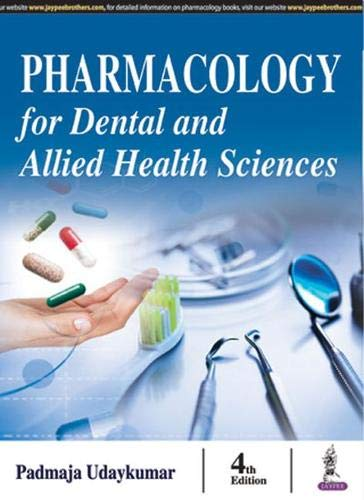 Image OfPharmacology For Dental And Allied Health Sciences
