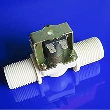 Barry Century Válvula Solenoide - Sensor de la Válvula de Entrada Normalmente Cerrado para Bebederos Máquina de Café Lavavajillas G1 DN25 DC12V 420MA 5W