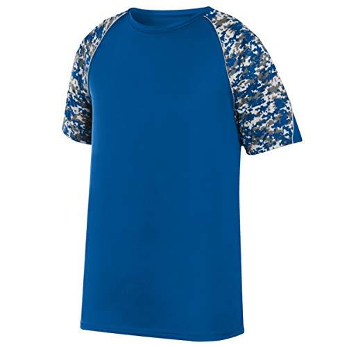 Best Price Augusta Sportswear Boys' Color Block Digi Camo Jrsy M Royal/Royal Digi/Silver