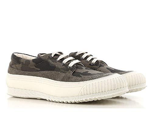 scarpe uomo modello hogan Hogan Sneakers Basse Uomo in Tessuto Mimetico - Codice Modello: HXM2580AF90ITJ0QC3 - Taglia: 42.5 EU