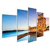 islandburner Bild Bilder auf Leinwand Belem Tower Portugal
