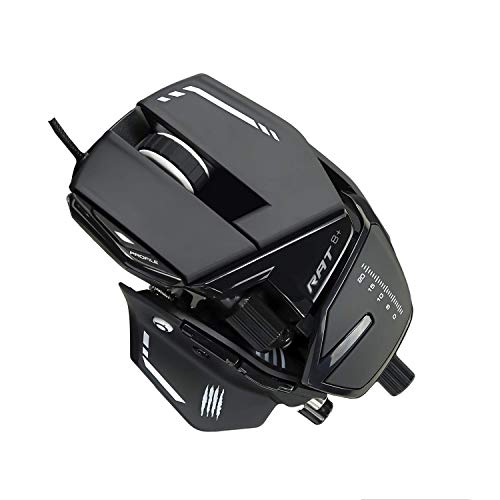 Mad Catz The Authentic R.A.T. 8+ Optical Gaming Mouse (Renewed)