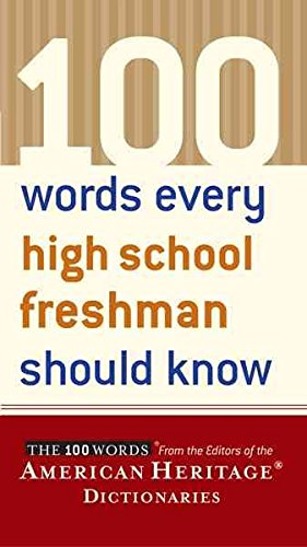 [(100 Words Every High School Freshman Should Know)] [Edited by American Heritage Publishing Company] published on (April, 2004)