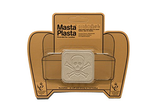 MastaPlasta Parches Premium Autoadhesivo para Reparación de Ante. Gamuza Beige. Elije el Tamaño y el Diseño. Primeros Auxilios para Sofás, Asientos de Coche, Bolsos, Chaquetas