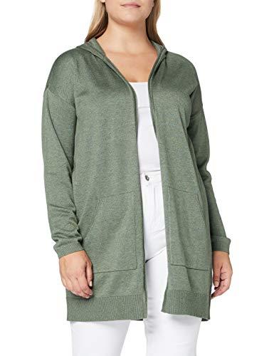edc by Esprit 990cc1i305 Suéter cárdigan Verde ( 354 / VERDE KHAKI 5 ) , XL para Mujer