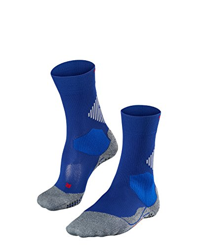 FALKE Unisex, 4 Grip Socken Stabilizing Sportsocke - Funktionsfaser mit Kompressionszone zur Stabilisierung des Knöchels, Blau (Athletic Blue 6451), 37-38, 1er Pack