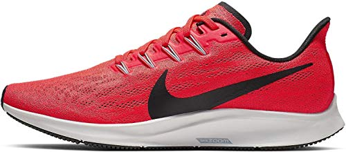 Nike Air Zoom Pegasus 36, Zapatillas de Atletismo Hombre, Multicolor (Bright Crimson/Black/Vast Grey 600), 45 EU