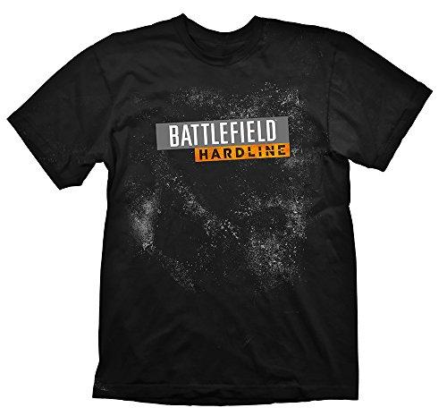 Battlefield Hardline T-Shirt Logo Black, M