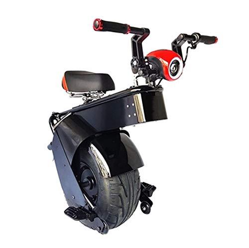 Qinmo Monociclo eléctrico de Auto-Equilibrio Vespa eléctrica Plegable de la batería Li-Ion Ultralight Plegable E-Scooter Moderno Tráfico (Color : B, Size : 45Km)