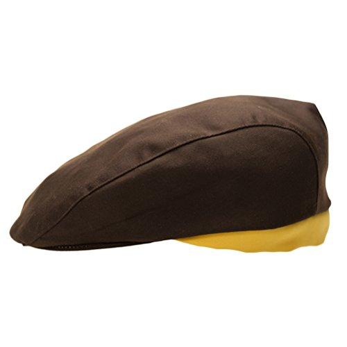 Nanxson(TM Unisex Chef's Beret Hat/Cooking Baker Hat CF9017 (Coffee)