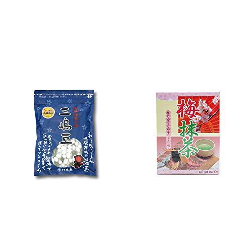 [2点セット] 飛騨 打保屋 駄菓子 三嶋豆(150g)・梅抹茶[小](12袋)
