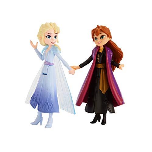 Disney Frozen 2 - Set 5 Bambole Adventure Collection, Anna, Elsa, Kristoff, Sven, Olaf, Ispirati al Film Frozen 2