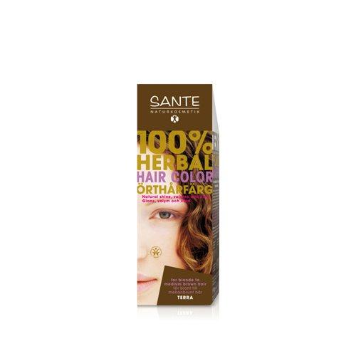 Sante Naturkosmetik 40181 coloración del cabello Marrón - Coloración del cabello (Marrón, Terra, Mujeres, 1 pieza(s), Cabello normal, Brillo)