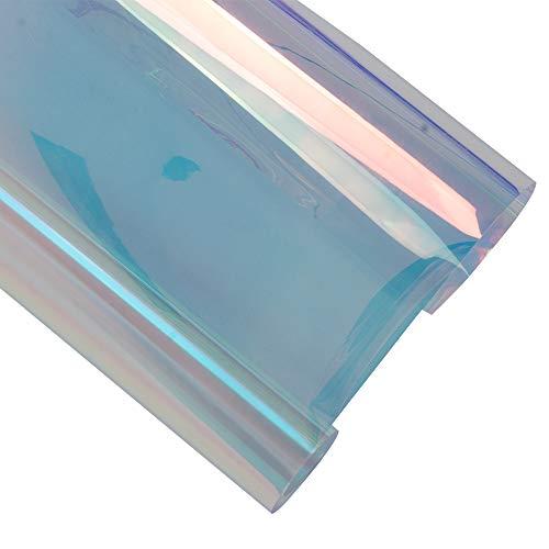HOHO 138cmx200cm Kameleon Kleur Privacy Raam Film UV Bescherming Raamsticker Tint Voor Kantoor Thuis Glas Deur