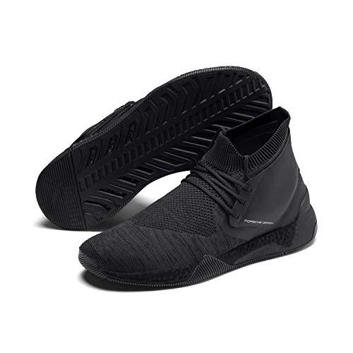 PUMA Porsche Design Hybrid Evoknit 306417 Schwarz 03 Sneaker, Größe:44, Farbe:schwarz
