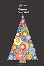 Christmas Shopping List Book: Pretty Christmas tree shopping list book for when you go out to buy gifts. Fits in your purse. Great for anyone ready to go shopping.