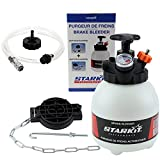 STARKIT PERFORMANCE Purgador de frenos y embrague 3 litros con adaptadores multimarca para purgar el circuito de frenos