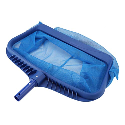 Emoshayoga Leichtes, müheloses Poolskimmer-Netz Blau Effektiver Weitkopf-Netz-Skimmer für das Poolreinigungswerkzeug für Schwimmbäder