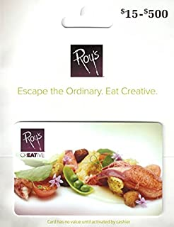 roy's gift card