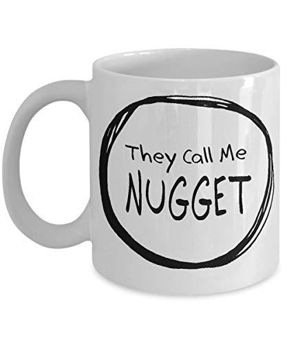 Nugget Mug - Sister Sibling Friend GiftCeramic Cup for Coffee Tea Drinks - 11 oz