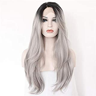 Women Straight Hair front lace wig deep invisible part wig