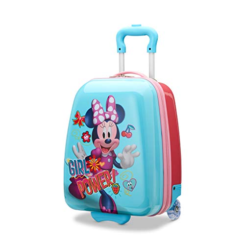 American Tourister Kids' Disney Hardside Upright Luggage, Minnie Mouse 2, Carry-On 18-Inch