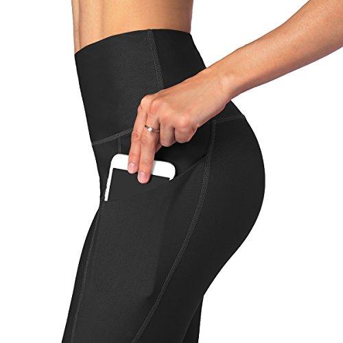 Occffy Leggings de Sport Femmes Fitness Taille Haute Pantalon Yoga Leggins avec Poches pour Gym...