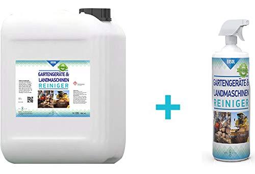 EOSOL Motorsägenreiniger/Kettensägenreiniger (Schaumreiniger), 5 l Kanister + 1.000 ml in Schaumsprühflasche, höchste Reinigungskraft, enthält keine agressiven Stoffe, säurefrei